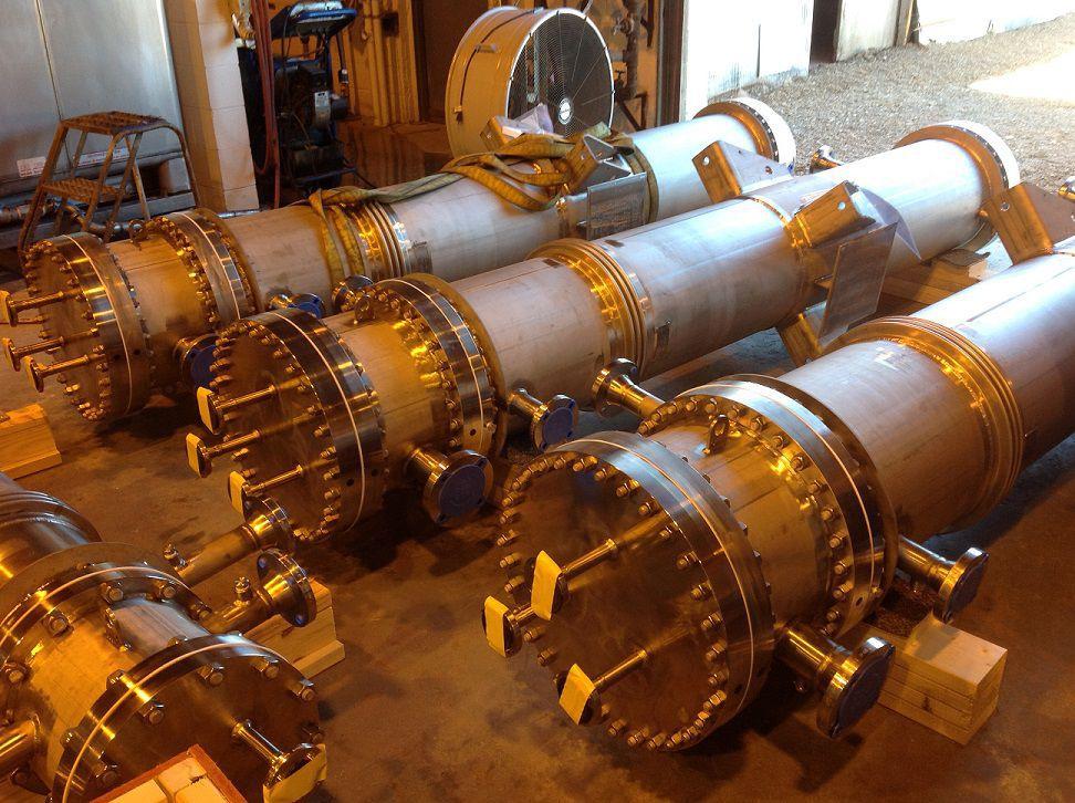 Теплообменник в химической промышленности Кожухотрубный конденсатор Alfa Laval CRF273-6-S 2P Кострома