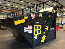 Воздушный сепаратор / бумага / для перерабатывающей промышленности / вакуумный