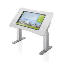 Терминал для контроля / с сенсорным экраном / на подставке / прочный