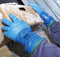 Рабочие перчатки / изоляционные / полиуретановые покрытия / воздухопроницаемые