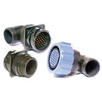 Коннектор для источника электропитания / круговой / с байонетным замком / с фланцем