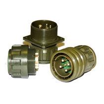 Коннектор для источника электропитания / круговой / для завинчивания / мультиполярный