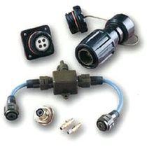 Коннектор для передачи данных / Quadrax / двухосевой / круговой