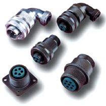 Коннектор для источника электропитания / круговой / с резьбовым соединением / мультиполярный
