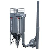 Пылеуловитель очистка пульсирующей струей / компактный / модульный