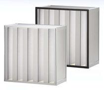 Воздушный фильтр / из панелей / мини-складки / большой вместимости