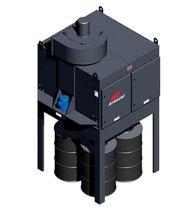 Пылеуловитель с фильтром / механическая прочистка / компактный