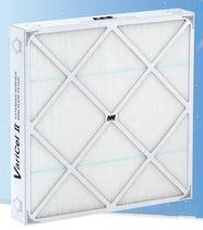 Воздушный фильтр / из панелей / складчатый / высокая эффективность