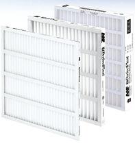 Воздушный фильтр / из панелей / складчатый / для использования в фармацевтике