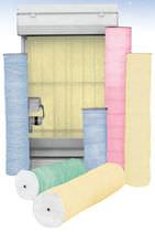 Фильтрующий материал из стекловолокна / пыли / для рулонного фильтра