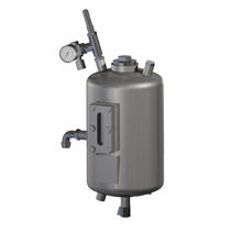 Резервуар из металла / герметизированный / вертикальный