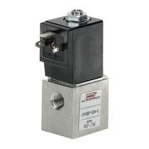Электроклапан с прямым управлением / с 2 каналами / газ / большой расход
