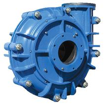 Насос для сточных вод / шламовый / центрифуга / горизонтальная установка