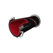 Транспортные жесткие шланги / для шахт и карьеров / из каучука / устойчивые к истиранию