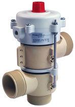 Клапан для горячей воды / из нержавеющей стали / пластиковый / с пневматическим приводом