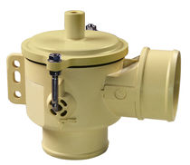 Клапан опорожнения / из нержавеющей стали / пластиковый / для вакуума