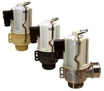 Клапан для горячей воды / с фланцем / резьбовой / из нержавеющей стали