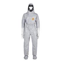 Рабочий костюм с химической защитой / из каучука / с колпачком