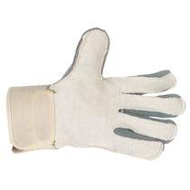Рабочие перчатки / с механической защитой / из кожи / из хлопчатобумажной ткани