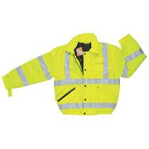 Куртка защита от холода / высокая видимость / электрически изолированная / из полиэстера
