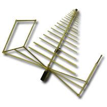 Биконическая антенна / логарифмически-периодическая / широкополосная / для связи