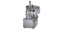 Наполнительная машина для бутылок / полуавтоматическая / линейная / для жидкостей
