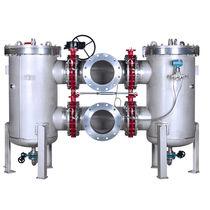 Гидравлический фильтр / с двойной корзиной / с ситом / высокая эффективность