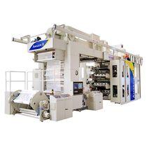 Флексографическая печатная машина / 8-цветная / для этикеток / для пластикового материала