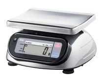 Настольные весы / с дисплеем LCD / из нержавеющей стали / герметичные