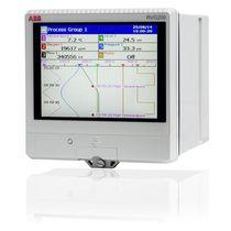 Видеографический регистратор без бумаги / с многоточечным сенсорным экраном / Ethernet / USB