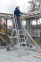 Складная лестница / из алюминия / для обеспечения безопасности