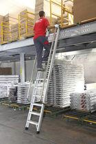 Простая лестница / из алюминия / для обеспечения безопасности