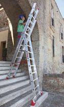 Складная лестница / из алюминия / многофункциональная
