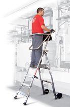 Лестница платформа / из алюминия / для обеспечения безопасности