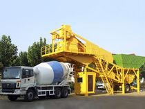 Мобильная бетоносмесительная установка