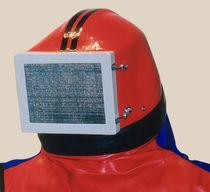 Шлем работающего с пескоструйным аппаратом / с защитной решеткой