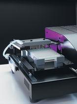 Дозатор для жидкостей / шприцевый / автоматический / микропластины