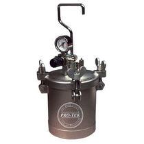 Резервуар для окрашивания / из нержавеющей стали / под давлением / вертикальный