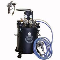 Резервуар для окрашивания / металлический / под давлением / вертикальный