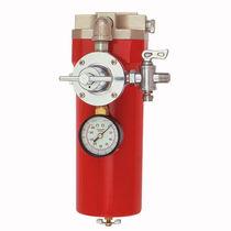Воздушный фильтр / для окрашивания / пневматический / с корзиной