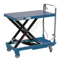 Подъемный стол ножницы / гидравлический / переносной