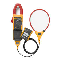 Мультиметр-зажим с цифровым индикатором / переносной / тока / напряжение