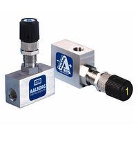 Игольчатый клапан / ручной / дозирующий / для воздуха