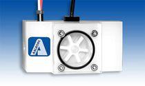 Расходомер с ротором / для жидкостей / с вертикальным монтажом / из полипропилена
