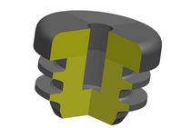 Круглая пробка / с лопатками / внутренняя резьба / из пластика