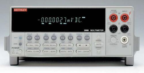 Цифровой мультиметр / настольный / слабый шум / высокоточный 2000 Series Keithley Instruments