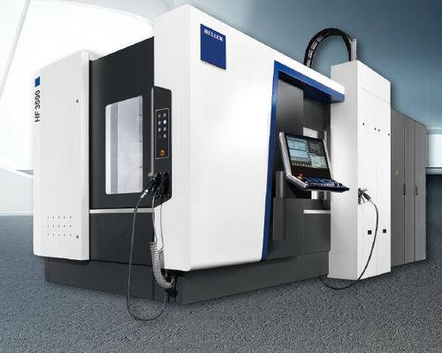 5-осный обрабатывающий центр / горизонтальный / с высокой скоростью / с высокой производительностью HF series HELLER