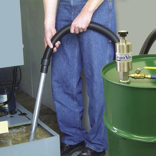 Насос для сточных вод / пневматический / полупогружной / для бочек EXAIR Corporation
