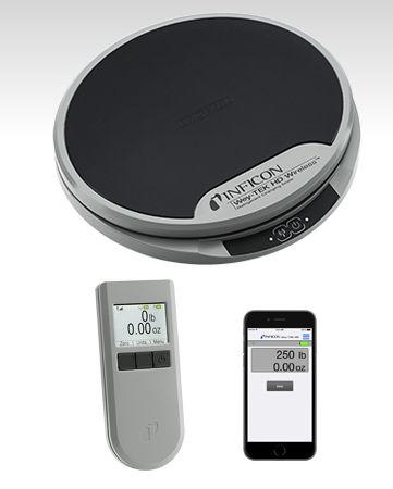 весы с платформой / точный / с дисплеем LCD / для холодильника