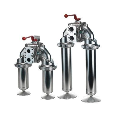 гидравлический фильтр / с двойной корзиной / линейный / компактный